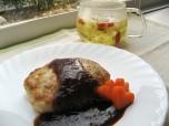 Recipe Image 豆腐ハンバーグ枸杞子ソース