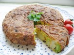 Recipe Image ハトムギと空豆のスペイン風オムレツ