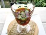 Recipe Image 夏野菜と魚介のお酢ゼリー