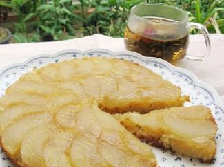 Recipe Image 梨のケーキと八宝茶