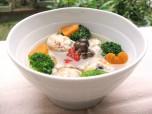 Recipe Image サバの薬膳団子スープ